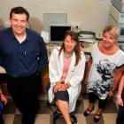 University of Otago human nutrition researchers (from left) Beth Gray, Dr Karl Bailey, Dr Lisa...