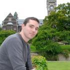 University of Otago researcher Owen Jones reflects on his neuroscience study plans. Photo by...