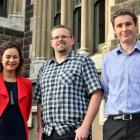 University of Otago researchers (from left) Dr Lisa Te Morenga, Dr Euan Rodger and Dr James...