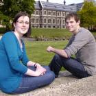University of Otago students Naomi White and Julian Peat will study at Cambridge University next...