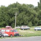 Up to nine vehicles are parked around the Alexandra boat ramp area some evenings, with the...