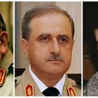 Victims of a suicide bombing in Syria are (from left) former defence minister General Hassan Ali...
