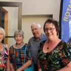 Yvonne Gale, Kate Summers, Bruce Cathie and Elaine and Peter Herbert, all of Wanaka. PHOTOS:...