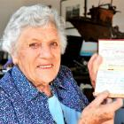 Waikouaiti resident Pat Heckler (92) is thrilled to be given her late father's World War 1...