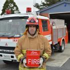 Waitahuna Volunteer Fire Brigade Station Officer Daniel Wark will be the first firefighter from...