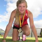 Waitaki Girls' High School pupil Megan McPhail picked up the 100m and 200m sprint crowns at the...