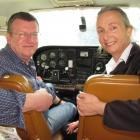 Wakatipu Aero Club acting secretary Ian Webb, operations manager and chief flying instructor...