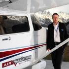 Wakatipu Aero Club president and general aviation operator Peter Daniell, of Dalefield. Photo...