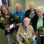 Wakatipu Senior Citizens Association life membership award winners (from left) Karen Bouley,...