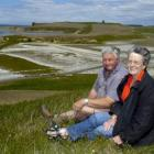 Peter and Irene Walton on their Waikouaiti property, which is to be developed into a farm park....