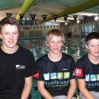 Wanaka brothers (from left) Janus, Julius and Leo Staufenberg are all performing well in...