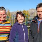 Wanaka parents Claire O'Connell, Leanne Little and Jason Pryde are on the committee of the new...