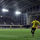 Wellington Phoenix play the Brisbane Roar last year at Forsyth Barr Stadium. Councillors hope to...
