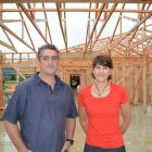 West Otago Health Centre Trust chairman Allister Body and fundraising committee chairwoman...