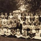 Where's Roy?  Girls and boys from the Kaikorai School's 1961 form 2 class. Photo supplied.
