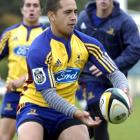 Willie Ripia in his Highlanders days.