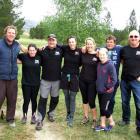 Winners (from left): Logan Dowling, Gemma Hore, Tony Steele, Jules Blanchard, Janet Steele, Mia...