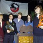 Winners of the 2009 Otago and Southland Manu Korero Secondary Schools Speech Competition (from...