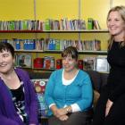 Working to rebuild High Street School are new teachers Maria Osborn (left), Janine Weatherly ...