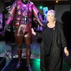 World of WearableArt founder Suzie Moncrieff inspects a garment in the Off the Wall: World of...