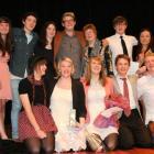 Year 13 drama  pupils at Logan Park High School in Dunedin bid farewell to teacher Denise Walsh ...
