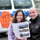 Youth East Taieri youth worker Erin Winder and youth director Brendon McRae discuss a youth...