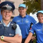 Dunedin-based GodZone team (from left) Nathan White, Amie Manning, Hugh Tait and Tracey...