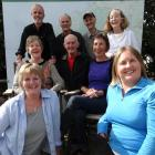 George Moir descendants gathering in Glenorchy on Saturday are (front, left) Jenny Braaksma, of...