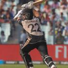 Kane Williamson in action against Bangladesh. Photo Reuters