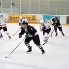 Kirstin Gerken plays for the Ice Ferns against Australia at the International Ice Hockey...