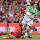 Liam Squire's ability to run in the open and offload makes him a threat with ball in hand. Photo:...