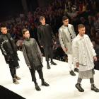 Models show Jack Hill's latest designs during last month's emerging designer show at the Dunedin...