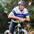 St John  paramedic Scott Weatherall takes a break from training for his last mountain-bike race...