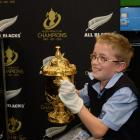 Taieri College year eight pupil Dylan Lloyd (12). Photos by Linda Robertson.