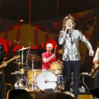 The Rolling Stones will appear on the same night as Bob Dylan at the festival. Photo Reuters