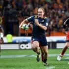 Highlanders centre Matt Faddes during last Friday's Super rugby match against the Crusaders at...