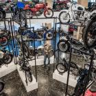Nelson businessman Tom Sturgess in his New Zealand Motorcycle Collection museum. The collection...