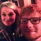Nisse Perry with Ed Sheeran in Queenstown. Photo supplied.