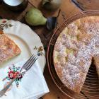 Pear cake. Photo: Simon Lambert