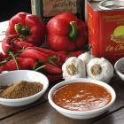 The North African dish harissa (centre) is widely used in the region's cuisine. Photos by Monique...