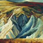 Doris Lusk (1916-1990),  Eroded Hills, St Bathans (1963), oil on board. COLLECTION OF THE DUNEDIN...