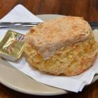 Marbecks' cheese scone. Photo by Gregor Richardson.