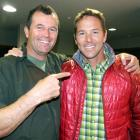 New Zealand Mountain Film Festival founder and director Mark Sedon, of Wanaka, and American...