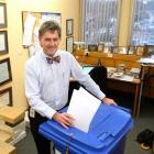 Prof Rob Walker, who is stepping down as head of medicine at the Dunedin School of Medicine, ...