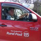 Kevin ''Rock'' McCrorie, of Ranfurly, has retired as rural postie after 17 years. Photo by Lynda...