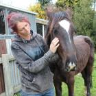 Laura King could not leave wild horse Comet behind when she found him in the back hills of...