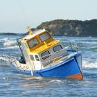 Allen Eade's fishing boat. Photo by Stephen Jaquiery.