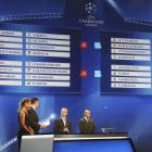 The Champions League draw. Photo: Reuters