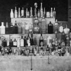 Some of the assorted bottles collected by children from Dunedin schools in aid of patriotic funds...