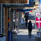 Helwick St, Wanaka, where businesses that have opened illegally on Easter Sunday in the past face...